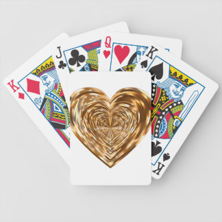 heart bicycle playing cards