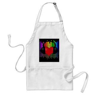 Heart bit standard apron
