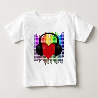 Heart bit - transparent baby T-Shirt
