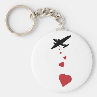 Heart Bomber - Make Love Not War Key Chain
