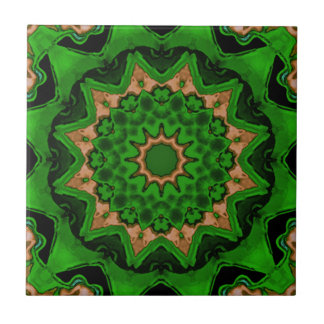 Heart Box Sun Green Ceramic Tiles