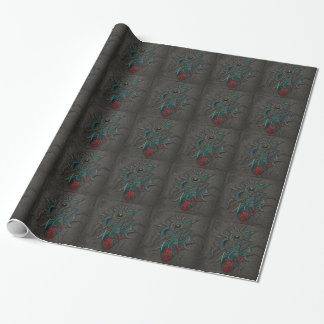 Heart Brain Eye Wrapping Paper
