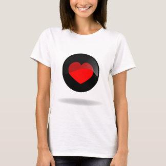 Heart button T-Shirt