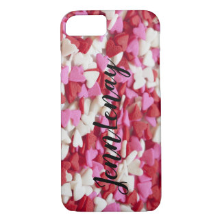 Heart candy i phone case