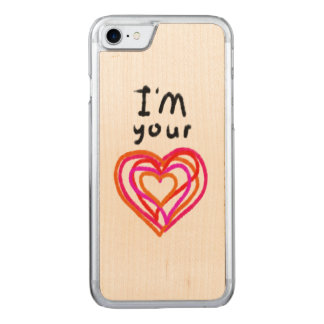 Heart Carved iPhone 8/7 Case