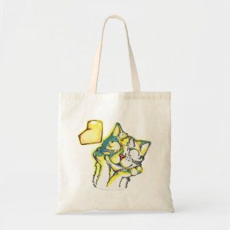 Heart Cat Tote Bag