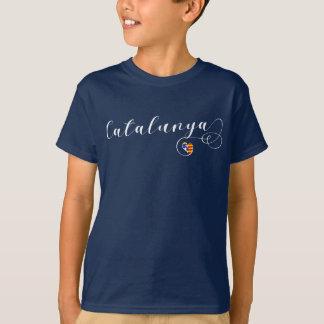 Heart Catalunya Tee Shirt, Catalonia
