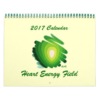 Heart Chakra 2017 Calendar Green Energy Field