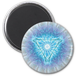 heart chakra (ajna अजन) 2 inch round magnet