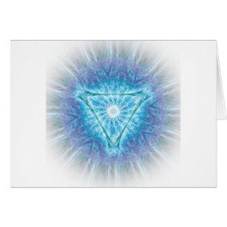 heart chakra (ajna अजन) card