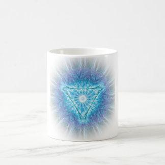 heart chakra (ajna अजन) coffee mug