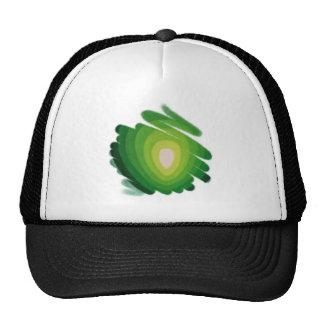 Heart Chakra Green Art Spirals Trucker Hat