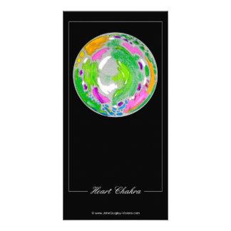 Heart Chakra Photo Card Template