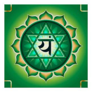 Heart Chakra Poster