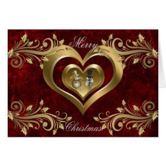 Heart Christmas Card