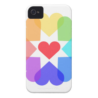 Heart circle iPhone 4 Case-Mate cases