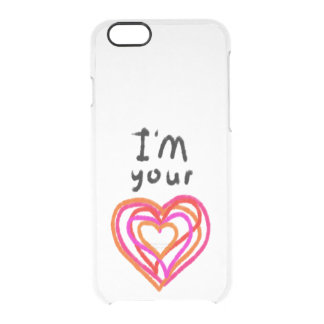 Heart Clear iPhone 6/6S Case