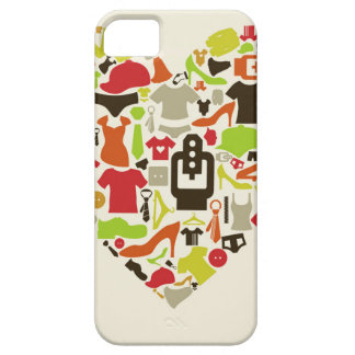Heart clothes2 iPhone 5 cases