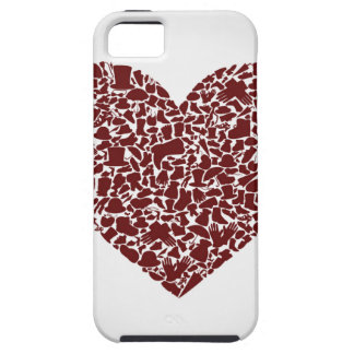 Heart clothes case for the iPhone 5