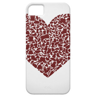 Heart clothes iPhone 5 covers