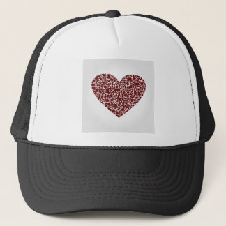 Heart clothes trucker hat