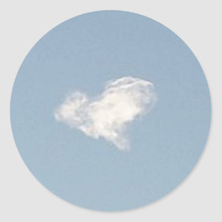 Heart Cloud Sticker