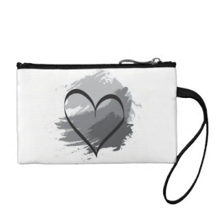Heart coin pouch coin wallets