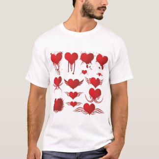 Heart Collection Mens T-Shirt