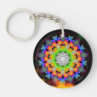 Heart Connection/Celebrate Change Keychain