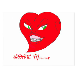HEART COOL png MOM Post Cards