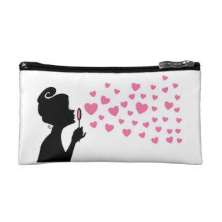 Heart Cosmetic Bafg Makeup Bag