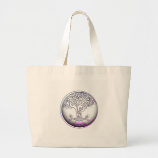 heart creation case large tote bag