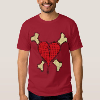 Heart & Crosbones Ladies T-Shirt