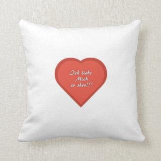 Heart cushion - I love myself so much!