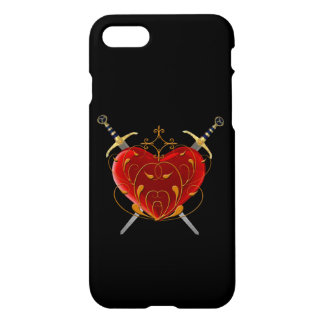 Heart & Daggers iPhone 7 Case