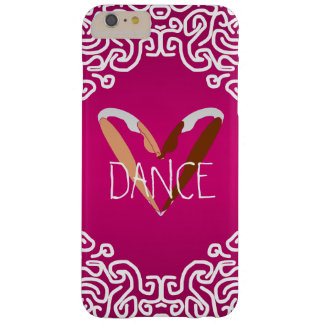 heart DANCE, LOVE dance. Barely There iPhone 6 Plus Case