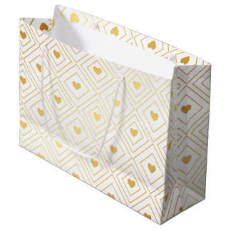 Heart Deco Large Gift Bag