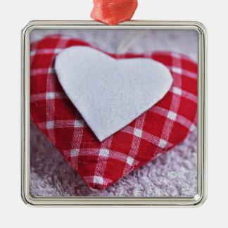 Heart Decoration Checkered Symbol Love Valentine