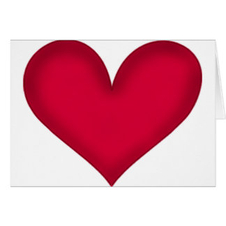 heart design greeting cards