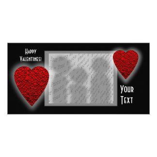 Heart Design. Valentine's Day. Photo Cards
