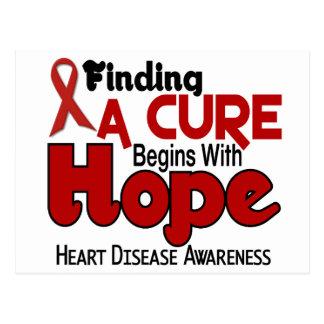 Heart Disease HOPE 5 Postcard