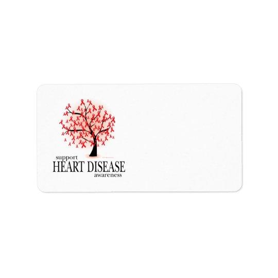 Heart Disease Tree Label