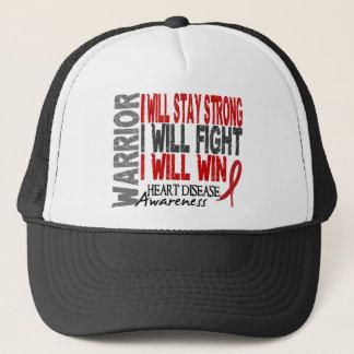 Heart Disease Warrior Trucker Hat