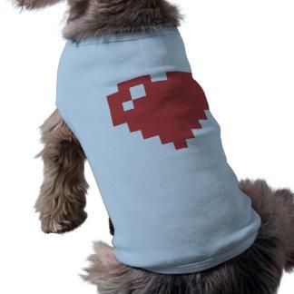 Heart Doggie Ribbed Tank Top Dog Tee
