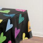 Heart Doodles Tablecloth