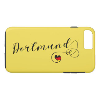 Heart Dortmund Mobile Phone Case, Germany iPhone 8 Plus/7 Plus Case