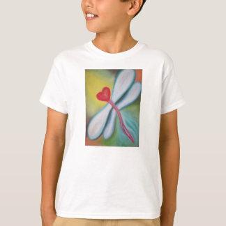 Heart Dragonfly t-shirt