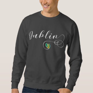 Heart Dublin Sweatshirt, Ireland, Irish Sweatshirt