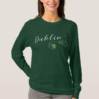 Heart Dublin T-Shirt, Ireland, Irish T-Shirt