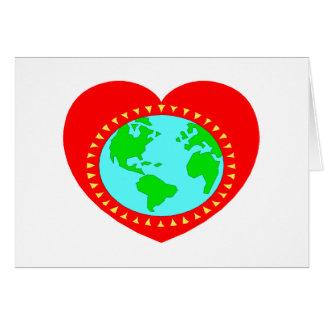 Heart (Earth) Card